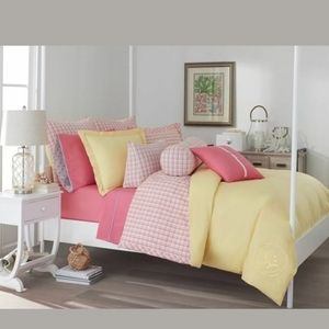 New Southern Tide Twin 2pc comforter set Patio